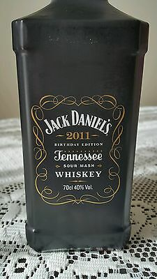 Jack Daniels Whiskey 2011 Birthday Edition! Limited & Rare!!