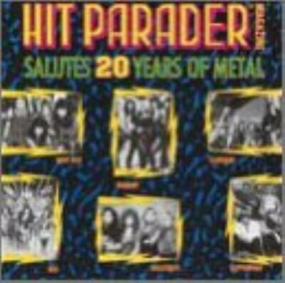 Various Artists : Hit Parader Salutes 20 Years of Metal CD Fast and FREE P & P