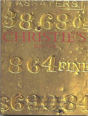 Gold Rush Treasures from the SS Central America - Christie's New York - Dec 2000