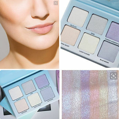 6 Colors Makeup Powder Glow Bronzer Highlighter Cosmetics Powder Palette Beauty