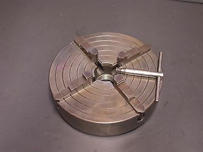 Excellent 4 Jaw Chuck  For Logan South Bend Atlas Craftsman Metal Lathes