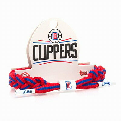 New Rastaclat NBA Los Angeles CLIPPERS Basketball Shoelace Bracelet RC001LAC