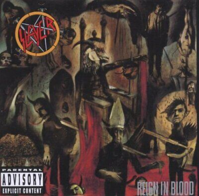 Slayer - Reign In Blood - Slayer CD N6VG The Cheap Fast Free Post The Cheap Fast