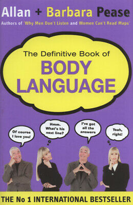 The definitive book of body language by Allan Pease (Hardback)