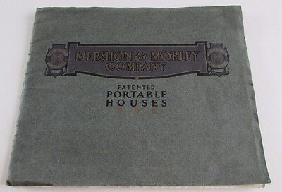 Architecture 1900's Mershon & Morley Co Portable Houses Plans Saginaw Michigan