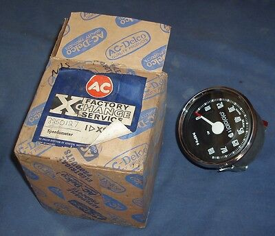 AC-Delco XS 9908 Factory Exchange Speedometer - Dodge Trucks 1958/1967, FC & NC