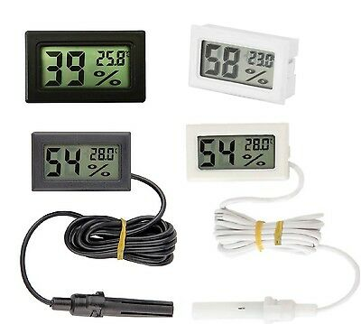 Digital LCD Indoor Temperature Humidity Meter Thermometer Hygrometer AU NEW