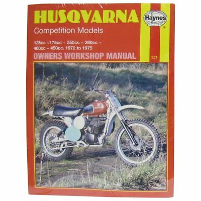Manual Haynes for 1974 Husqvarna WR 125