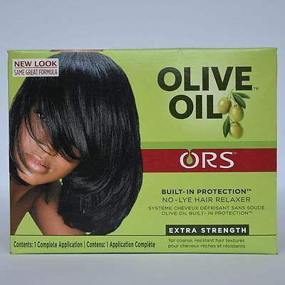 ORS Organic Root Stimulator Olive Oil Built-In Protection No-Lye Relaxer Kit EXT