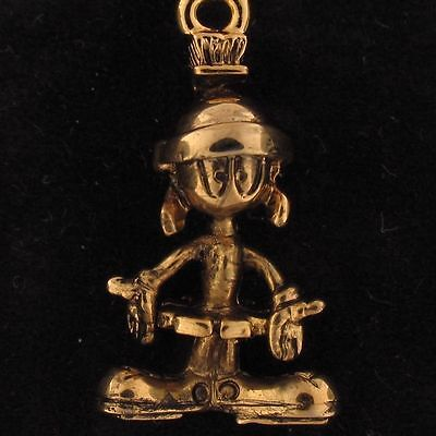 CHARM Marvin The Martian WARNER BROS LOONEY TUNES Gold NEW WB STORE 4187