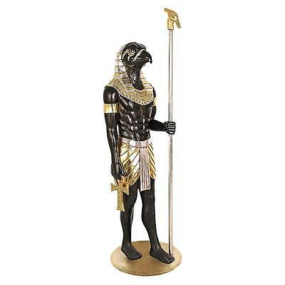 Horus Falcon Ancient Egypt Egyptian God of the Sky Deities African Artwork Decor