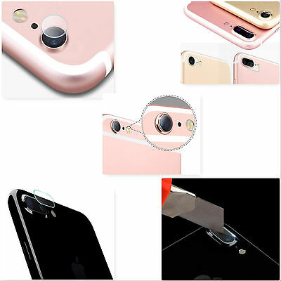 iPhone 7 7Plus Soft Tempered Glass Camera Lens Protector Back Protective Sticker