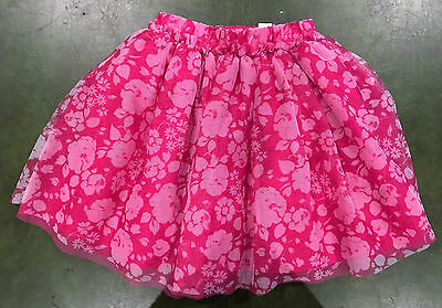 NWT Girls The Children's Place Pink Tulle Skirt  Size S 5-6