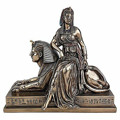 Cleopatra Kleopatra Egyptian Goddess Ancient Queen of Egypt Sphinx Decor Artwork