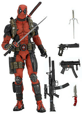 Marvel Deadpool 1/4 Scale Action Figure Neca - Official