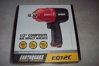 "Earthquake Central Pneumatic  EQ12C 1/2"" composite air impact wrench"