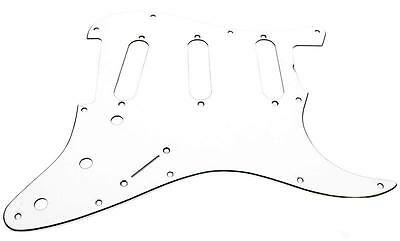 Fender Vintage '60s-style 11-hole Stratocaster Pickguard, 3-ply White 0992018000