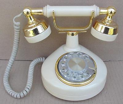 Vintage Victorian French Style Princess Dial Telephone Phone Western Electric