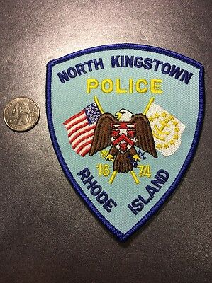 North Kingstown Rhode Island Police Department Patch RI