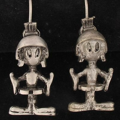 EARRINGS Marvin The Martian WARNER BROS LOONEY TUNES Pewter WB STORE 4091