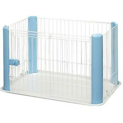 Iris Ohyama Pet Playpen CLS-960 Blue Small