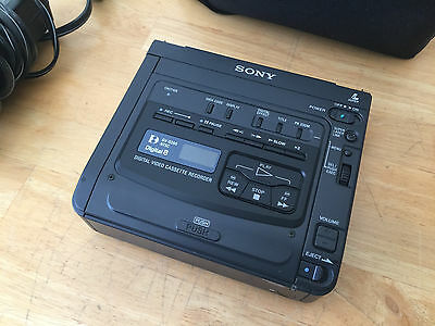 SONY GV-D200 Digital8 Hi8 Player Recorder VCR Deck