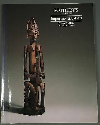Sothebys Important Tribal Art African Art May 8, 1989