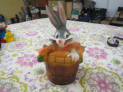 Bugs Bunny 1972 Plastic Bank Warner Brothers Made In New York