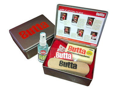 Butta Originx Full Service Kit + Free Structure Pads for Snowboard & Ski