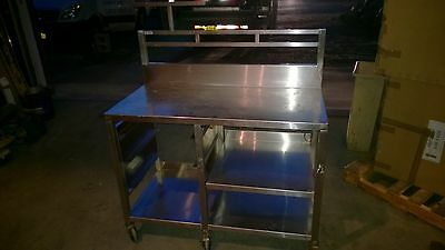 "30"" x 48"" Prep Table Commercial Stainless Steel Work Food  Kitchen Restaurant"