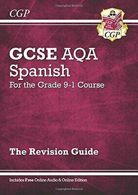 New GCSE Spanish AQA Revision Guide - for the Grade 9-1 Course (... by CGP Books