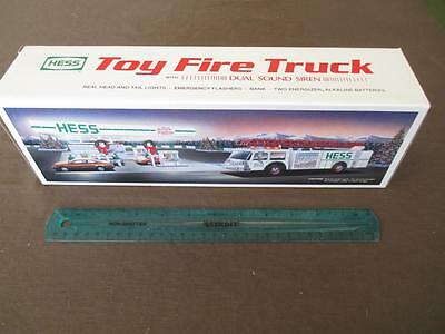 1989 Hess Collectable Toy Fire Truck - New - Still In Original Box (W4)