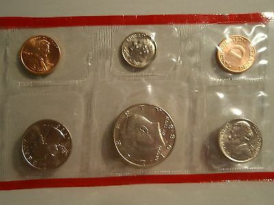 "1988 Uncirculated Coin set "" D"""