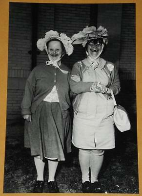 Funny Ugly Woman Vintage Photo Weird Strange Girl Crazy Freaky Odd Image 4x6 113