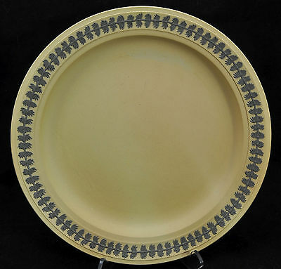 Antique Wedgwood Caneware and Jasperware Plate 19th Century