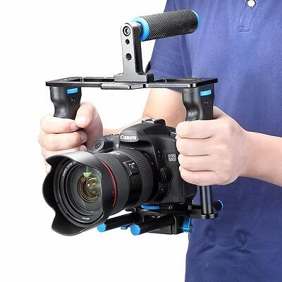 UK DSLR Rod Rig Camera Video Cage & Handle Grip for Sony A7 A7r A7s II A6300 GH4