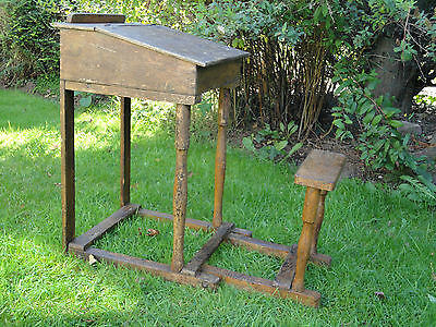 Antique Childs Folding School Desk from Dublin Collectors F5