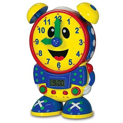 The Learning Journey Telly The Teaching Time Clock Primary Colors
