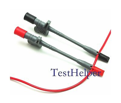 TestHelper Banana Socket Connection Wire Heavy Duty Insulation Piercing Probe...