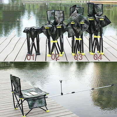 Outdoor Lightweight Folding Portable Seat Stool Fishing Camping Garden Chair