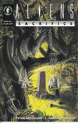 ALIENS SACRIFICE 1...NM-...1993...Pete Milligan,Paul Johnson...Bargain!