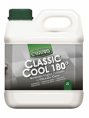 Evans Waterless Engine Cooling System Coolant - Classic Cool 180 - 2 Litres
