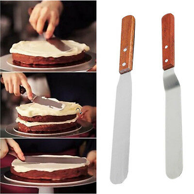 1Pcs Cake Stainless Steel Cream Knife 6inch Butter Spatula Pastry Fondant