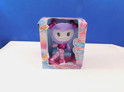 Brightlings Interactive Soft Doll - Purple, Stoffpuppe, Kuschelpuppe, Puppe