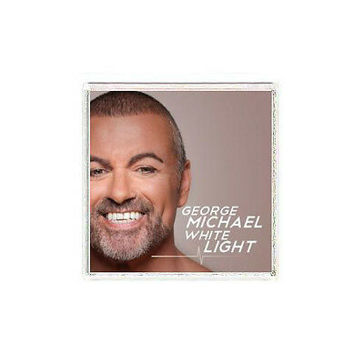 FRIDGE MAGNET GB George Michael White Light album cover