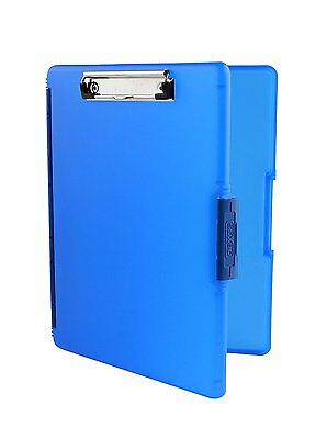 Dexas Slimcase 2 Storage Clipboard with Side Opening, Royal Blue