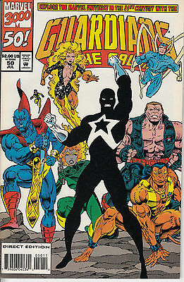 GUARDIANS OF THE GALAXY 50...NM-...1994...Newstand Variant...HTF Bargain!