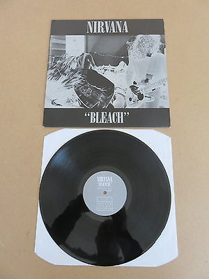 NIRVANA Bleach TUPELO LP RARE 1989 ORIGINAL UK PRESSING TUPLP6 SUB POP