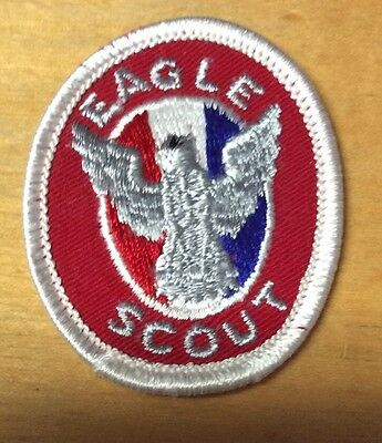 Bsa Eagle Scout Rank Patch Type 6-A6 1975-1985  New!!