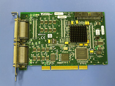 National Instruments PCI-7813R NI DAQ Card, R-Series Digital RIO, Virtex-II FPGA